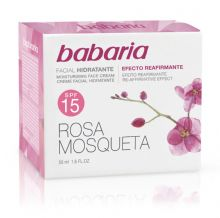 Babaria  Rosehip Oil 24 Hour Moisturising Face Cream 50ml SPF 15
